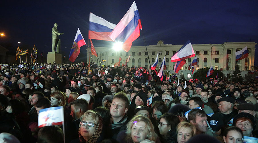 No regrets: Almost all Crimean residents support reunification with Russia