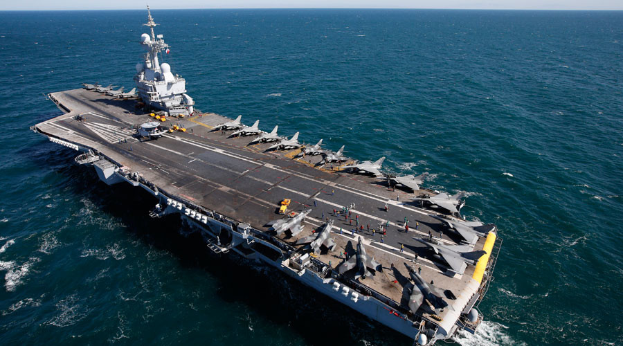 France to deploy aircraft carrier against ISIS, will supply Iraqi forces with heavy weapons