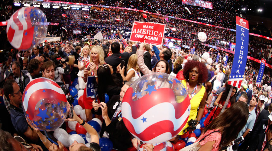 Welcome to the circus of US political conventions