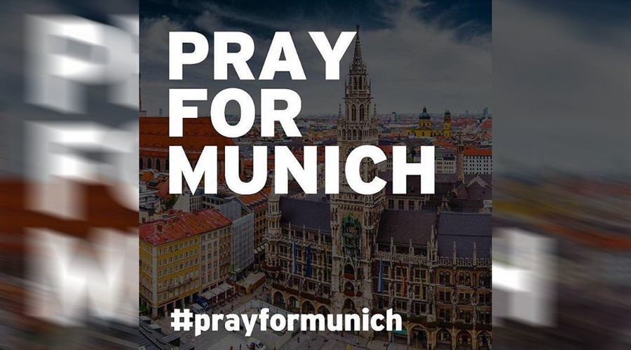#PrayforMunich: World reacts to Germany mall shooting