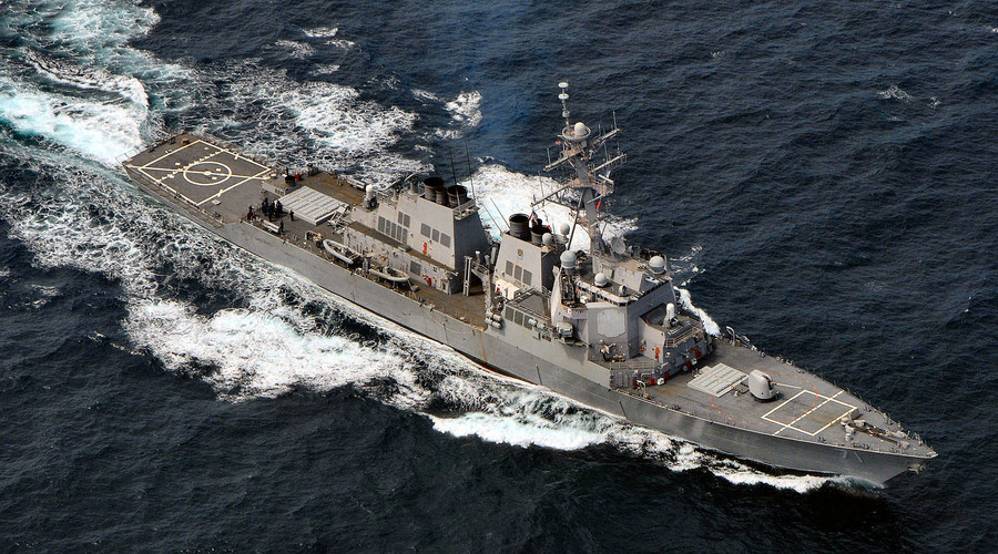 Guided missile destroyer USS Ross enters Black Sea to 'strengthen regional security'