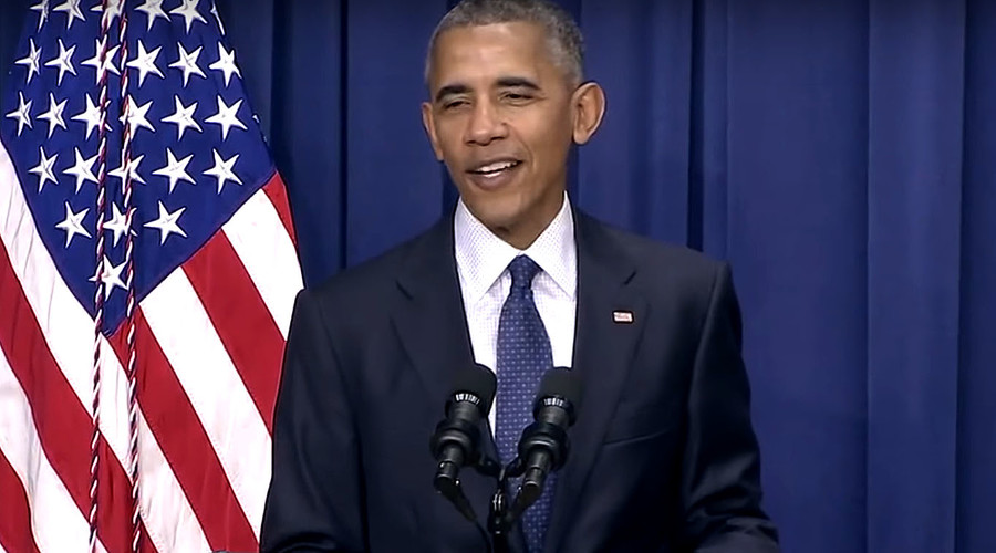 President Obama jokes during comments on Munich shooting (VIDEO)