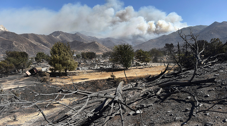 California wildfires force mass evacuations, prompt warnings of extreme danger