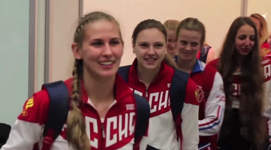 Russian Olympic team arrives in Rio as IAAF snubs Isinbayeva's appeal