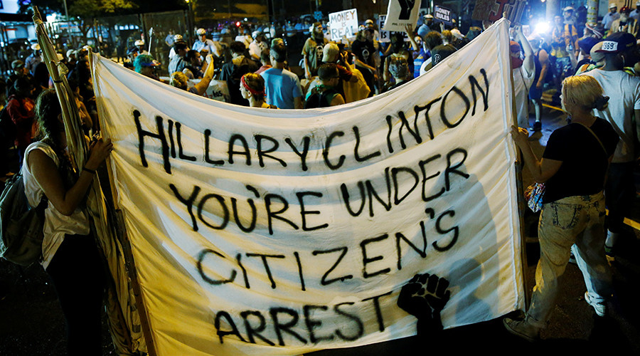 Leaked emails, rigged elections, media blackout: Welcome to democracy, American-style