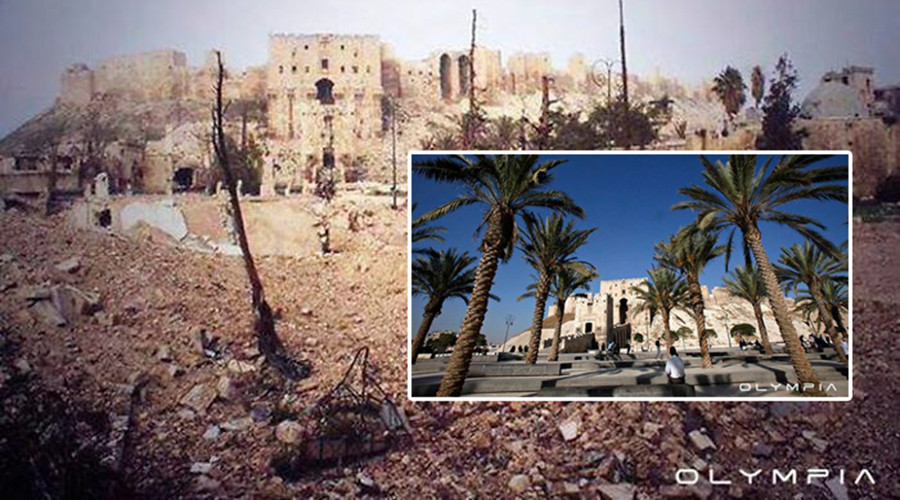 Aleppo before & after: Shocking images underscore war devastation of ancient Syrian city (PHOTOS)