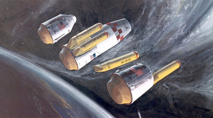 Back to the future: Space concept art of '60s & '70s now looks closer to fact than fiction (PHOTOS)