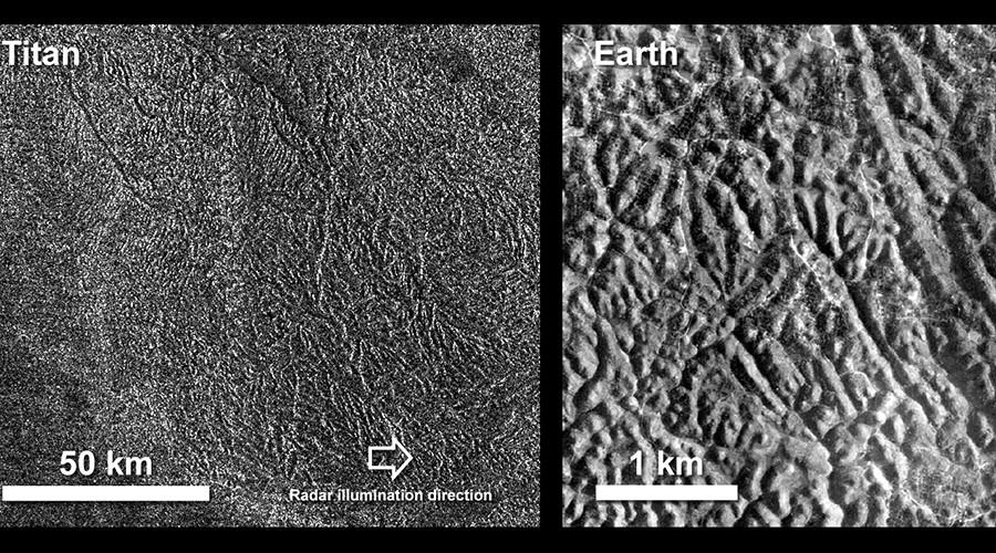 Titan's labyrinth: NASA captures complex terrain of Saturn's moon (PHOTOS)