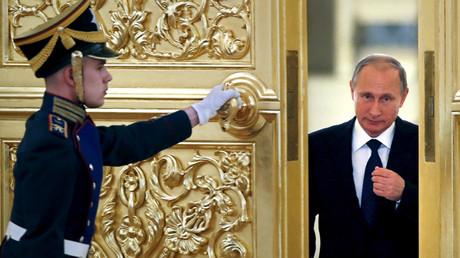 Russian President Vladimir Putin © Yuri Kochetkov