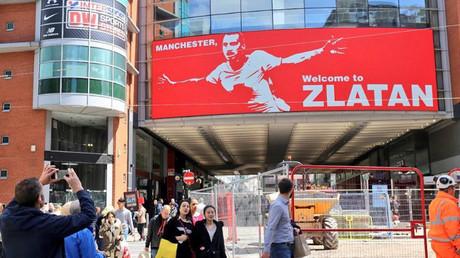 'Manchester, welcome to Zlatan': United welcomes Ibrahimovic with huge billboard