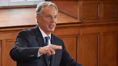 Former British prime minister Tony Blair. © Jeff J Mitchell