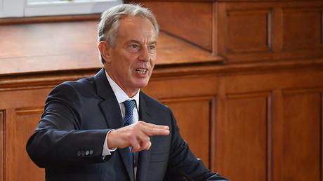 Former British prime minister Tony Blair. ©Jeff J Mitchell