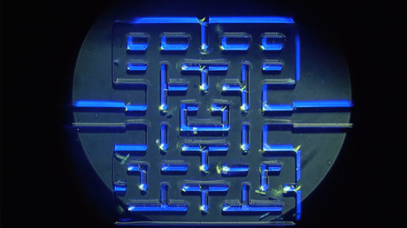 Pac-Man for scientists: Micro-organisms unleashed into videogame-style maze (VIDEO)