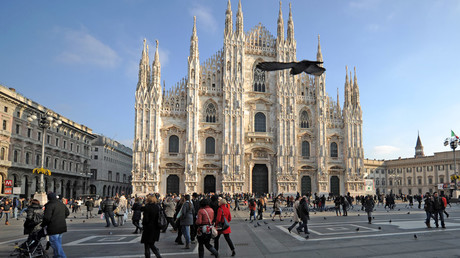 The Santa Maria Nascente Cathedral in Milan © Vladimir Astapkovich