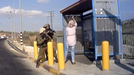Palestinian woman shot in stab attempt on Israeli soldiers (VIDEO)