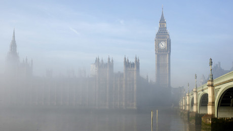 The Houses of Parliament in central London © Olivia Harris