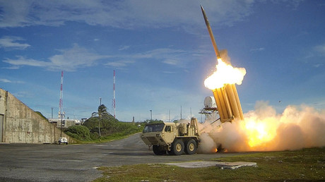 A Terminal High Altitude Area Defense (THAAD) interceptor © U.S. Department of Defense, Missile Defense Agency