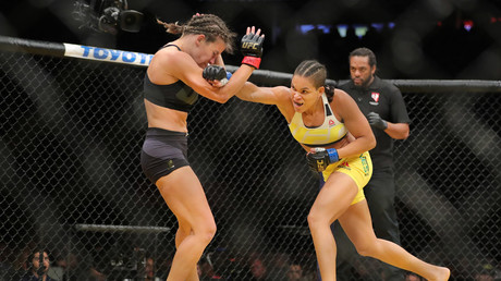 UFC legend Miesha Tate forced to deliver baby AT HOME as new arrival leaves no time for hospital dash