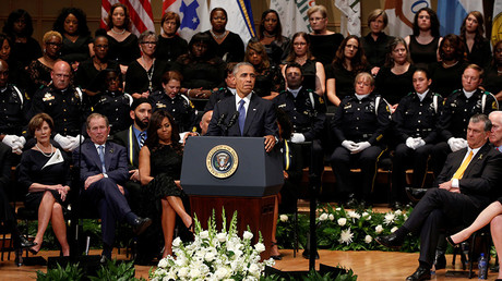 'Not just demented violence, but racial hatred' ‒ Obama on Dallas attacks
