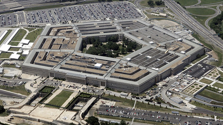 An aerial view of the Pentagon building in Washington © Reuters