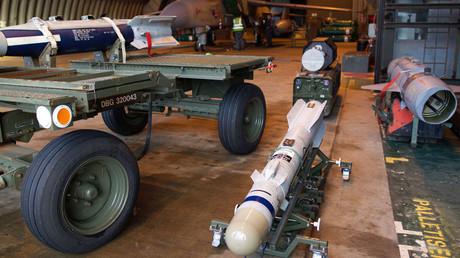 A picture shows a Brimstone missile © Philip Coburn