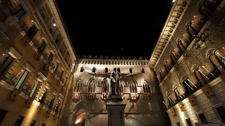 The Monte dei Paschi bank headquarters, Siena © Stefano Rellandini