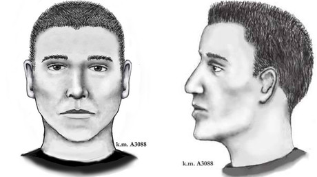 Police released a sketch of the suspected gunman. © City of Phoenix Police Department