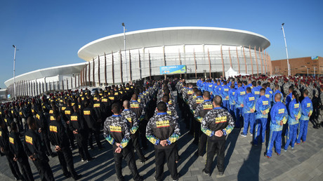 Brazilian security services complain of poor working conditions ahead of Rio Olympics