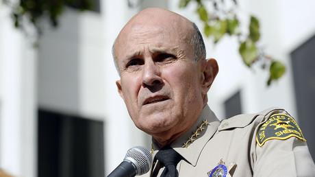 Former Los Angeles County Sheriff Lee Baca. ©Kevork Djansezian