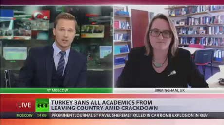 'Clear attack on academic freedom' – professor behind Turkish crackdown petition (RT INTERVIEW)