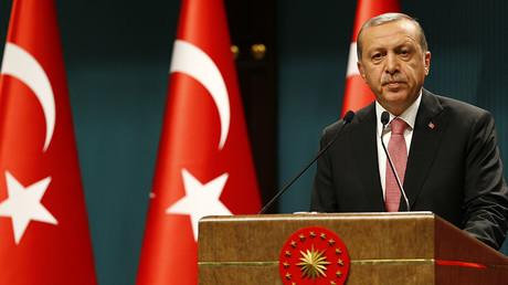 Turkish President Tayyip Erdogan. ©Umit Bektas