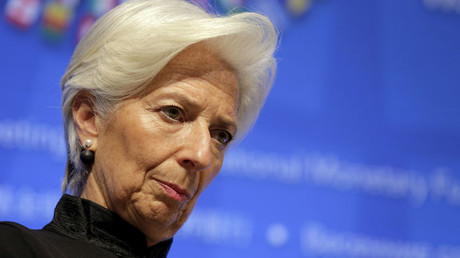 IMF Managing Director Christine Lagarde © Joshua Roberts