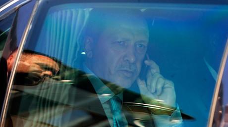 Turkish President Tayyip Erdogan  © Ognen Teofilovski