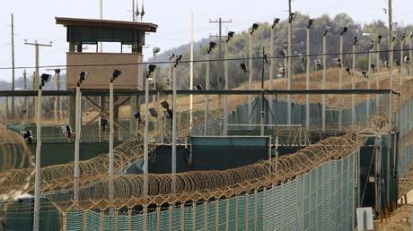The exterior of Camp Delta is seen at the U.S. Naval Base at Guantanamo Bay. © Bob Strong