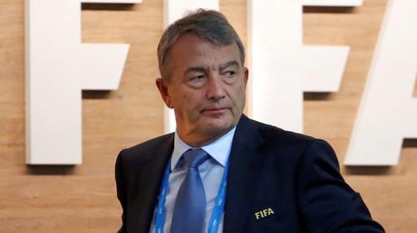 FIFA executive committee member Wolfgang Niersbach. © Arnd Wiegmann