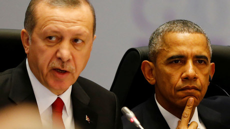 Turkey's President Tayyip Erdogan and U.S. President Barack Obama © Murad Sezer
