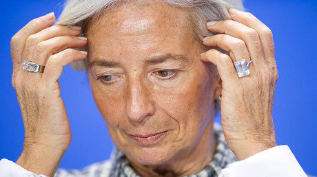 Director of the International Monetary Fund (IMF) Christine Lagarde © Stefanie Loos