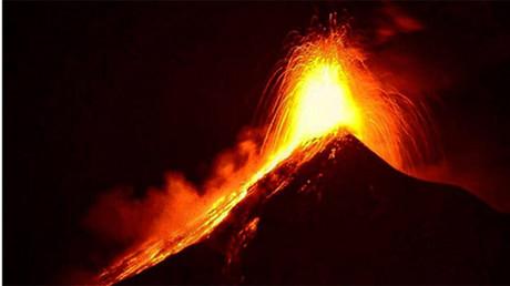 Smile! Volcanic eruption forms emoji-like face on Hawaii's Big Island