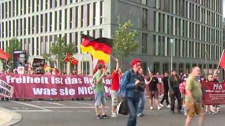 'Merkel must go': Rally in Berlin slams open-door refugee policy