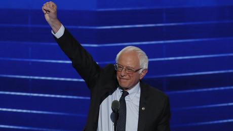Former Democratic U.S. presidential candidate Senator Bernie Sanders © Mike Segar