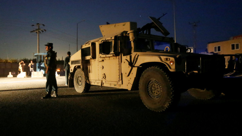 Taliban's massive truck bomb attack & gunfight at Kabul hotel ends with 1 policeman, 3 gunmen dead