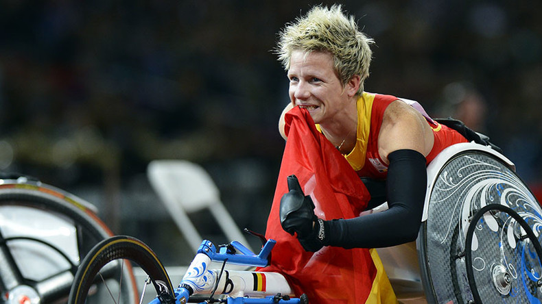 London Paralympic champ Vervoort considers euthanasia after Rio 2016
