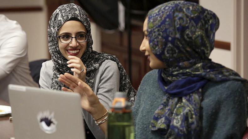 #CanYouHearUsNow: Muslim women respond to Trump's Khan statement