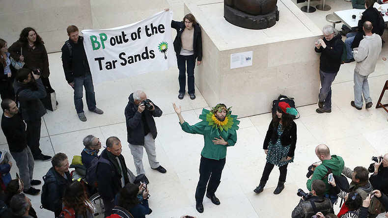 Celebrities accuse BP of exploiting the arts