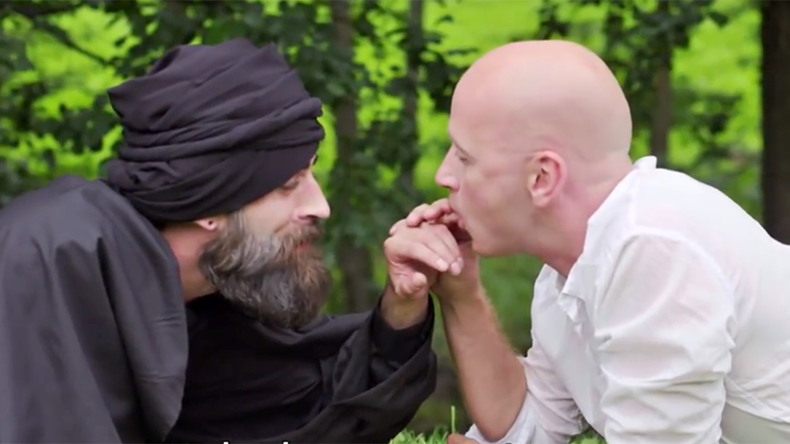 'My BagDaddy': Norwegian comic turns ISIS leader into 'gay icon' (VIDEO)