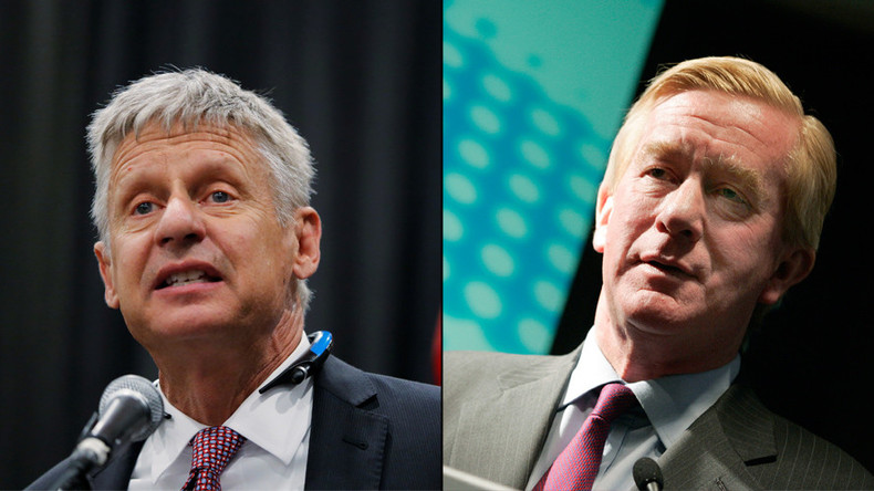 Pay to play & loose screws: Libertarian candidates blast both major-party nominees