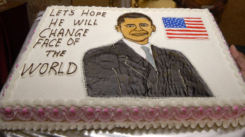 US media fawns over Obama in rush to celebrate president's birthday