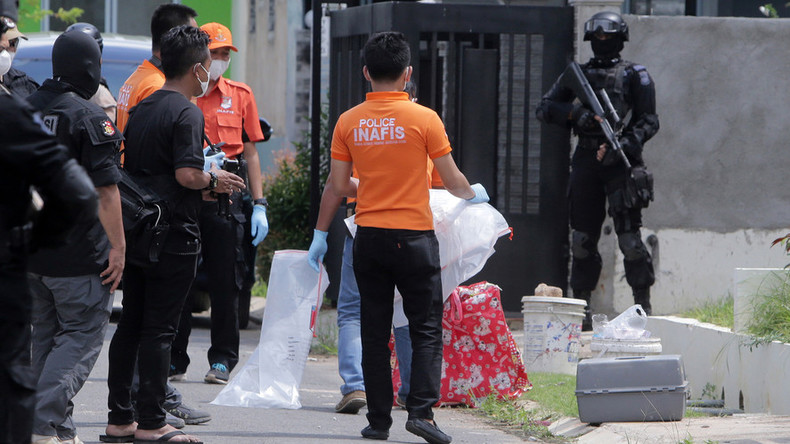 Indonesia police foil 'ISIS-linked rocket attack' on Singapore