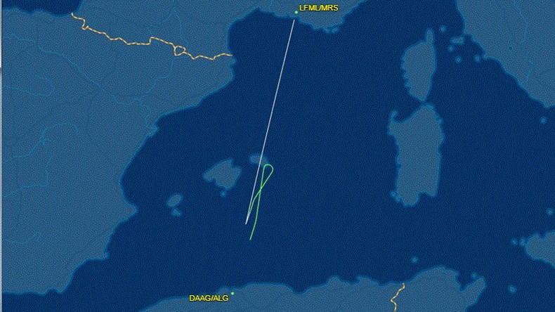 Air Algerie flight lands safely in Algiers airport after disappearing off radar