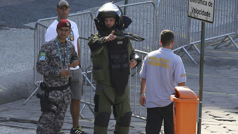 Controlled explosion carried out near Olympic cycling course in Rio